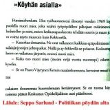 Paavo Väyrynen 1969