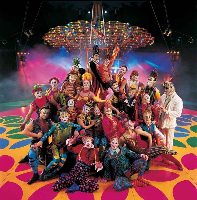 Kuva: Al Seib © 2005 Cirque du Soleil Inc.