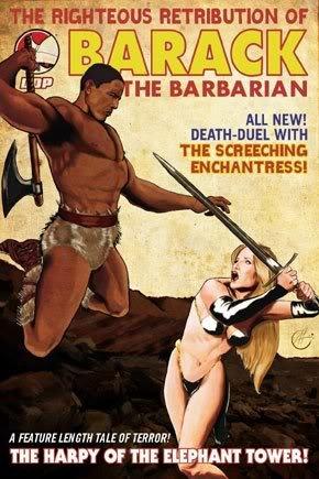 Barack the Barbarian.