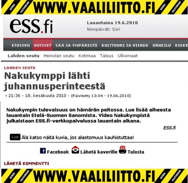 Nakukymppi 2010 - Padasjoki