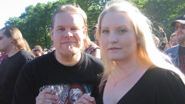 Ruotsalaisen ystävättären kera.. =)
