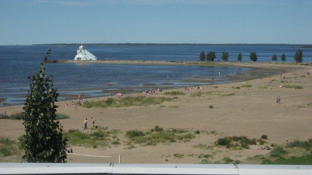 Oulun Nallikarissa oli kaunista :)
