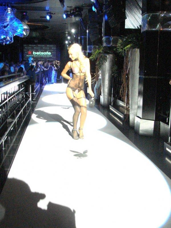 Playboy-alusvaateshow