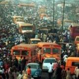 Tavallinen päivä Lagosissa