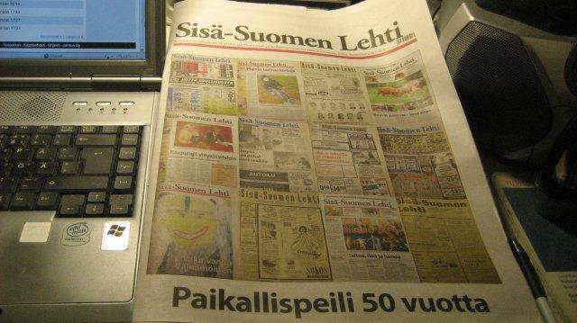 Sisä-Suomen Lehti 50 v.
