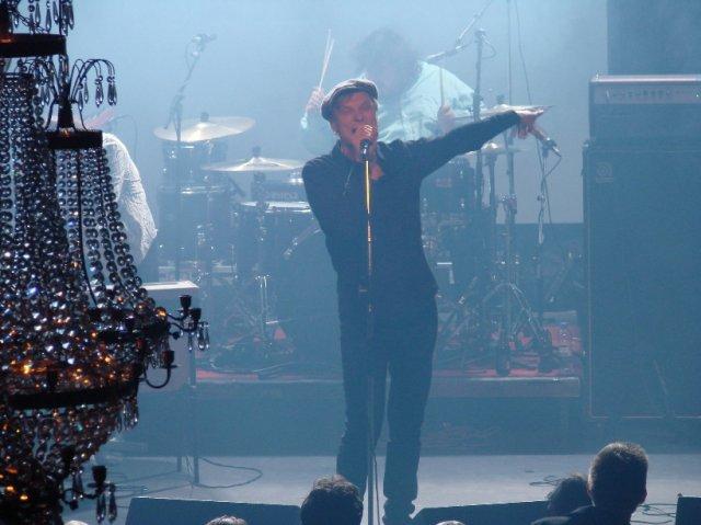 Myös Ismo Alanko esiintyi Tavastian syntymäpäivillä.