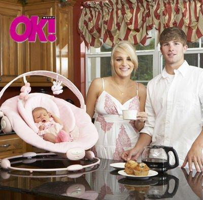 Jamie Lynn Spears ex-perheineen OK Magazinessa.