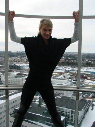 Miss Suomi 2011 Lehdistön ihannetyttö Anni Uusivirta