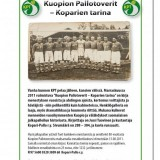 Kuopion Pallotoverit - Koparien tarina, kirjoittaja Jussi Tuovinen, ilmestyy marraskuussa 2011