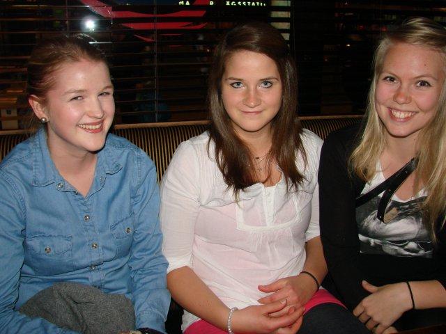 Sports Academy 18.5. Kaverukset Maija, 22, Maria, 21, ja Vilma, 21. Trikoo ei ole riskillä ruma, sen tytöt tietävät.