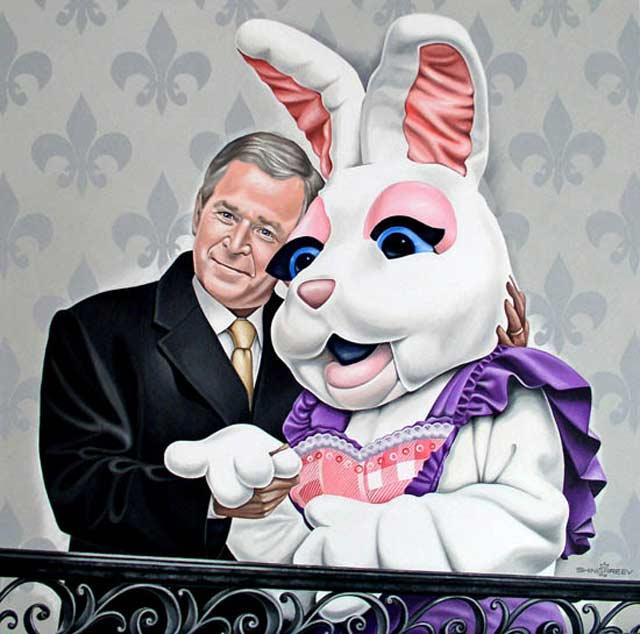 Bush ja Bunny.