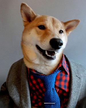 Vintage-pikkutakkiin lisää tehoa paidalla ja solmiolla.