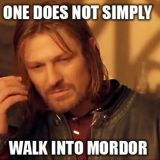 Kaverukset kävelevät Mordoriin – oliko Boromir väärässä?