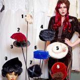 Pakkomielteenä hatut: Anastasia Gallen