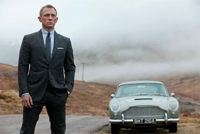 Daniel Craig ei ilmeestä päätellen ole vielä kuullut ennätysuutisista.