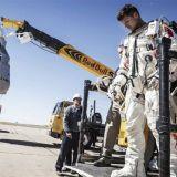 Felix Baumgartnerin uhkarohkean avaruushypyn uusi lähtölaskenta sunnuntaina