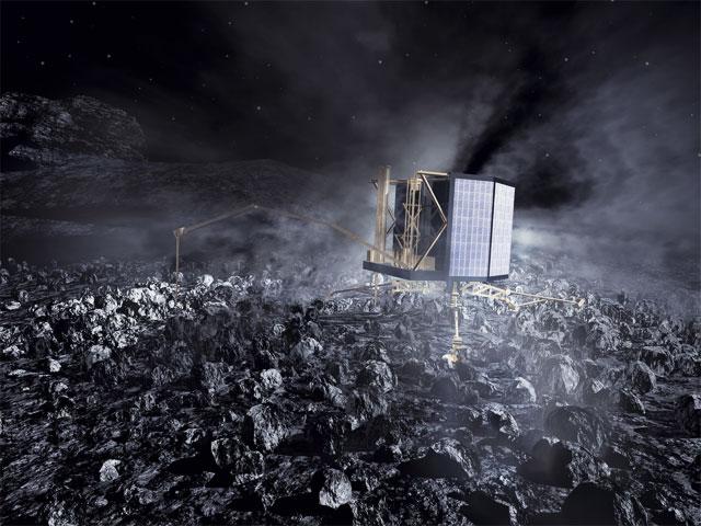 Philae-komeettalaskeutuja on esimerkki eurooppalaisesta avaruusosaamisesta.