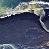 Islannin joet näyttävät maalauksilta tyrmäävissä ilmavalokuvissa