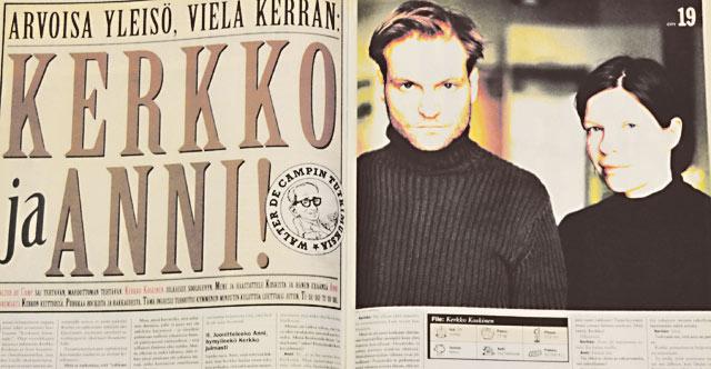 Kerkko Koskisen ja Anni Sinnemäen parisuhdehaastattelu tehtiin suhteen jo päätyttyä.