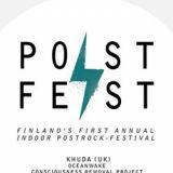 Suomen ensimmäinen postrock-festivaali Postfest Tampereella