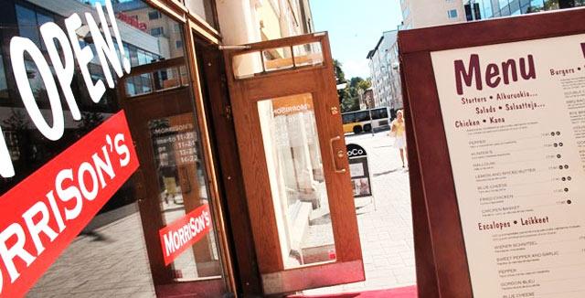 MorriSon´s vei burgerinsa Turkuun.