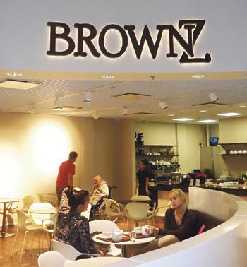 BrownZ on osa Kultatalon uutta ravintolamaailmaa.