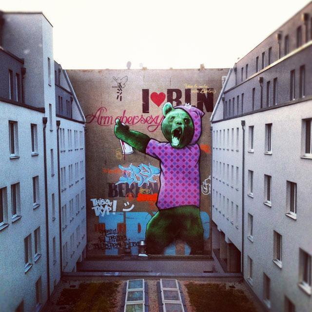 Tämä Mittessä sijaitseva hotelli kosiskeli nuoria asiakkaita upealla tilausgraffitilla.