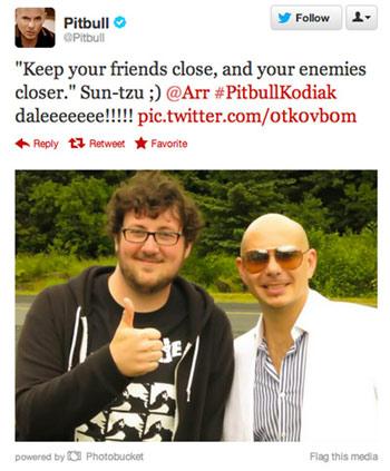 Pitbull onkin aika hyvä jätkä.