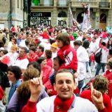 Pamplonan härkäjuoksu vaati jälleen veronsa