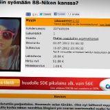 BB-Niko myy seuraansa Huuto.netissä