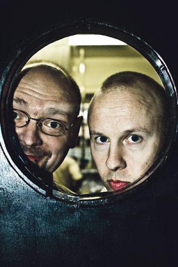 Luomon Mika Mattila (vas.) ja Jouni Toivanen  muuttavat.