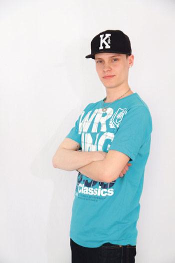 Cityn Battle od DJ's -kilpailun voittaja D'Jay-A:n top 3.