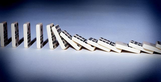 Dominot on kivoja.