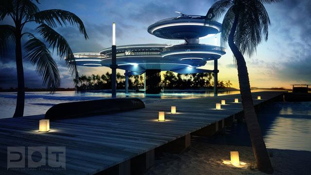 Deep Ocean Technologyn suunnittelema hotelli tarjoaa luksusta.
