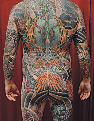 Suuri tatuointi.
