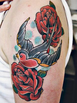 Pöllö Tatuointi