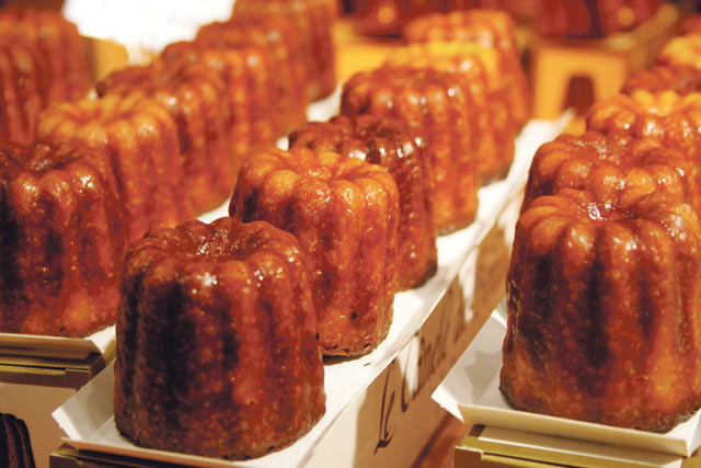 Macaron out, canelé in.