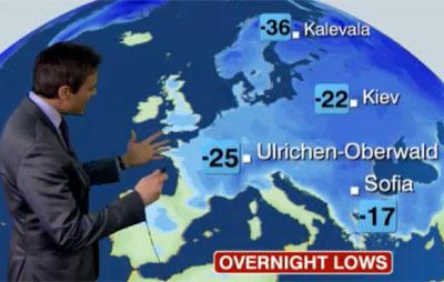 Maantietoa BBC:n tyyliin.