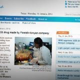 WHO hyväksyi suomalais-kenialaisen AIDS-lääkkeen