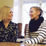 Reetta Vahanen ja Sonja Salli