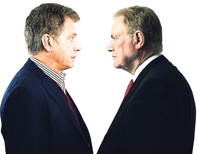 Sauli Niinistö vs. Paavo Lipponen