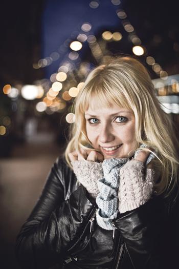 Laura Gustafsson ei jännittänyt Finlandia-palkinnon julkistamista.