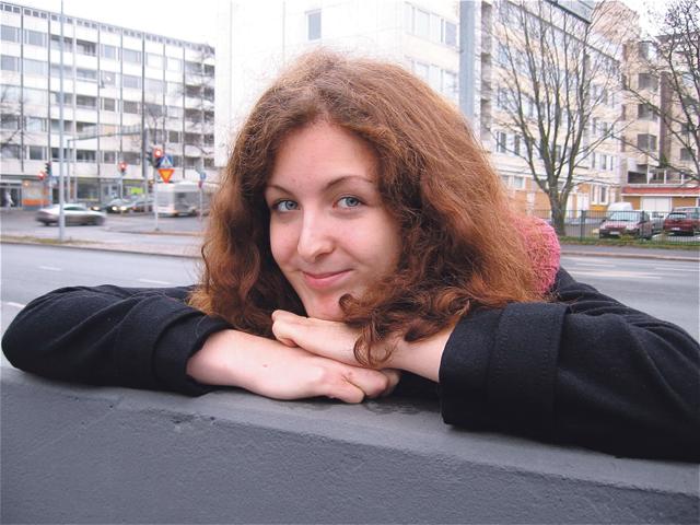 Susanna kirjoittaa keväällä ylioppilaaksi ja kiertää sitten vuoden maailmaa.