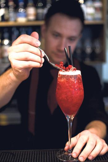 Latvan drinkkilista luottaa luomuun ja lähituotantoon.