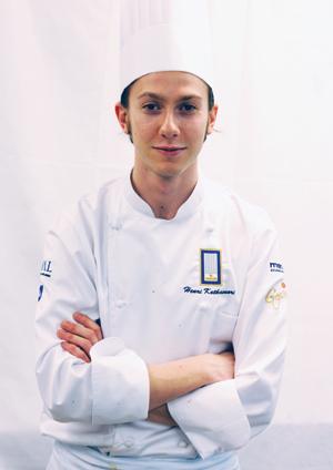 Henri Kotkavuori voitti kokkikisat.