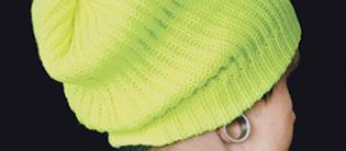 Beanie neon yellow -pipo. Kuva: Cybershop