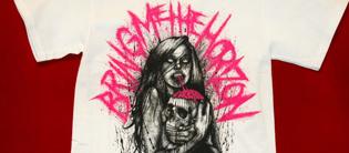 Bring Me The Horizon -paita. Kuva: Hellsinki Rockshop