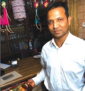 Delhi Darbar tarjoaa à la cartesta kymmenen prosenttia opiskelija-alennusta.