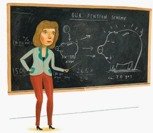 Aah ja uuh! Työuupumus voi olla seurausta heikon oppijan jatkuvasta keskittymisestä ja tsemppaamisesta.