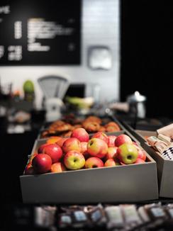 Logomon kahvila keskittyy esittelemään Varsinais-Suomen ruokakulttuuria.